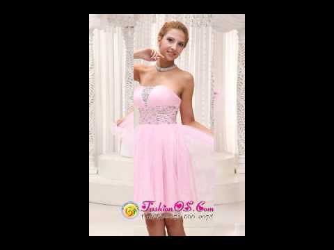 beaded-up-bodice-lovely-baby-pink-prom-/-cocktail-dress-strapless-with-mini-length