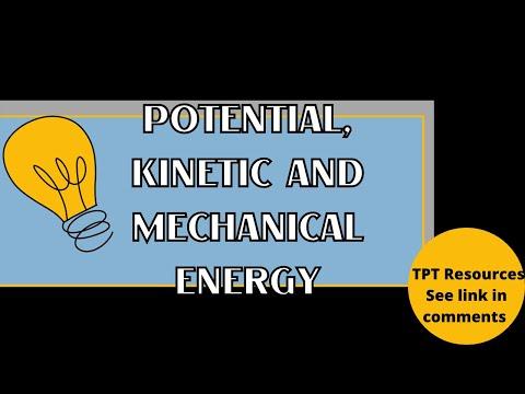 Potential, Kinetic, Mechanical