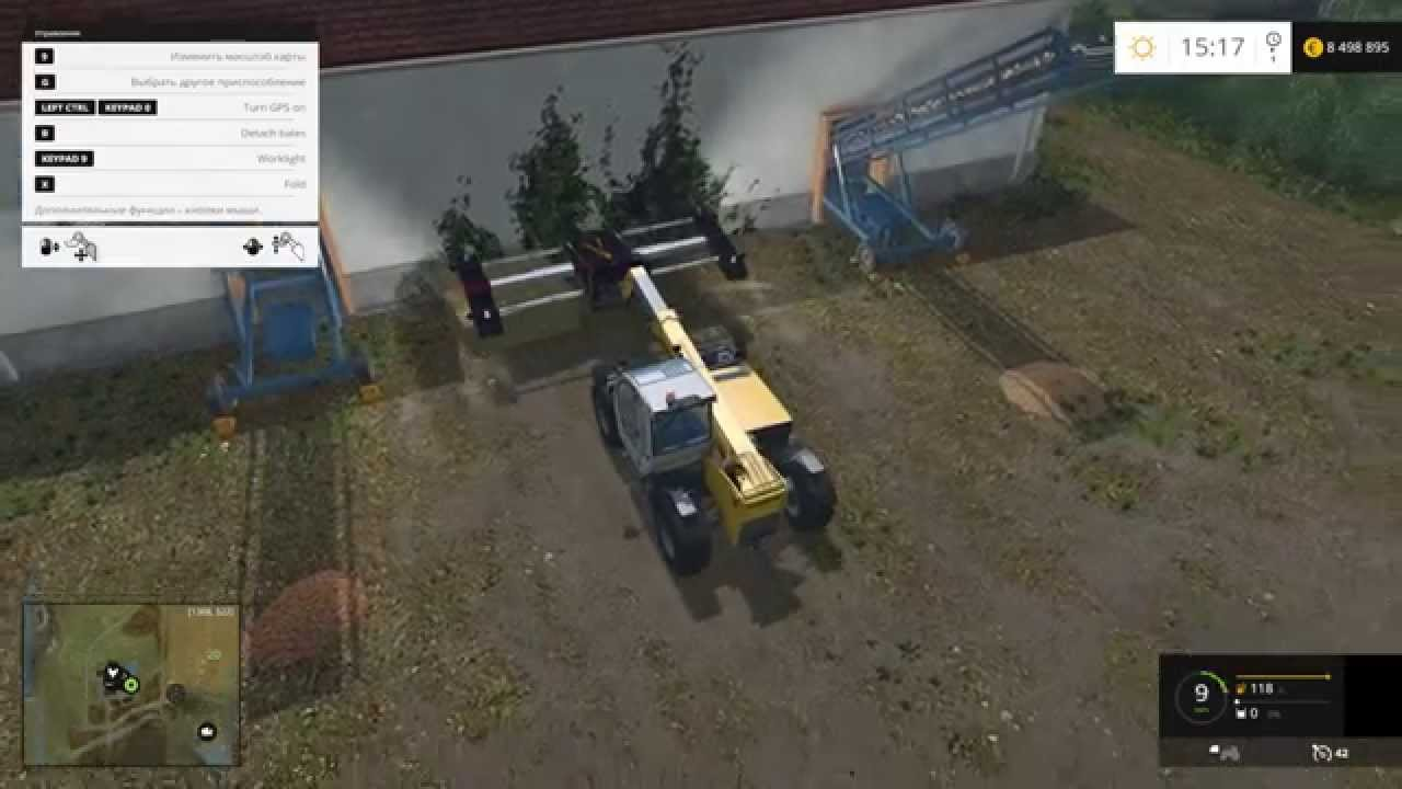 МОД Traverse Container V1 0 Farming Simulator 15 2015