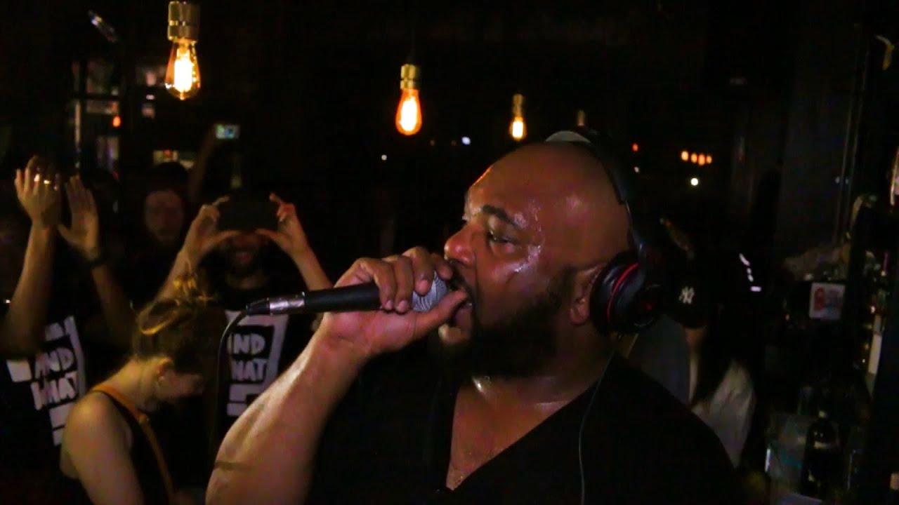 DJ Maseo Rocking Brixton - De La Soul plays And What LDN at Chip Shop