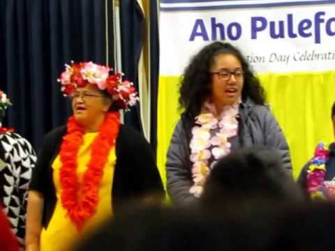 Song clip - opening of Niue Day 2016 Avondale