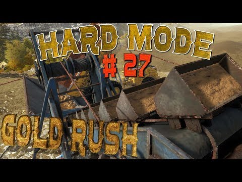 Gold Rush The Game Live stream Hard mode Part 27