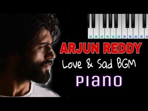 Arjun Reddy Emotional Love BGM on Piano by Sai Sathi