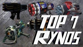 Ratchet & Clank Series TOP 7 R.Y.N.O.s - Best R.Y.N.O.