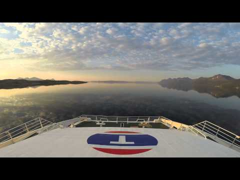 Nordlandsekspressen Bodø-Svolvær Timelapse
