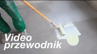 Malowanie posadzki betonowej - Film instruktażowy
