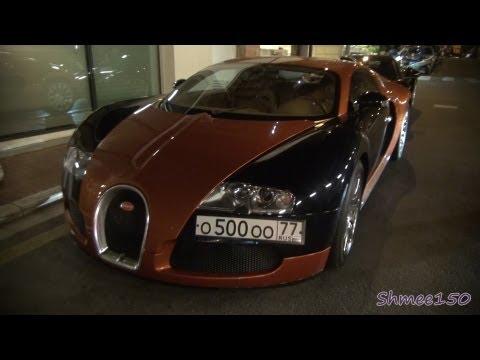Bugatti Veyron - BRONZE! From Russia in Monaco
