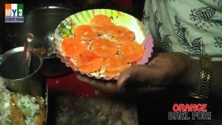 Orange Bhel Puri - Rajahmundry Street Foods - Rare Street Food