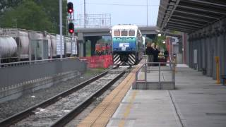 HiDef WB Sounder Commuter Train Leaves Everett Station At 06:15 HRS