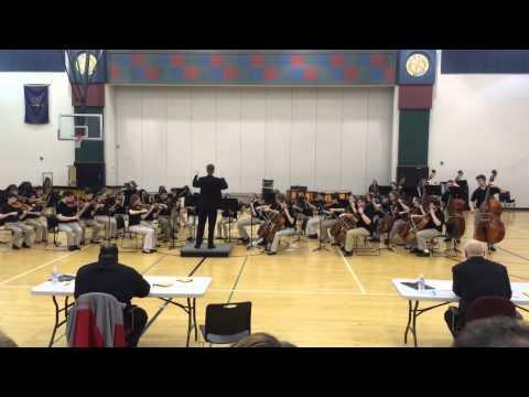 Avon Middle School North 8th Grade Orchestra - Fantasia On An Original Theme