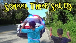SCHOOL THIEF ON THE LOOSE! 1st Day of School GONE WRONG!