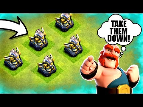 5 EAGLE ARTILLERY'S!.......TAKE THEM DOWN! ✅ Clash Of Clans