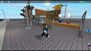 Going Though Traffic Lights And Railroad Crossings - Roblox