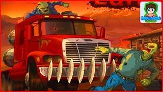 earn to die игра как мультик для детей красная машинка от Фаника