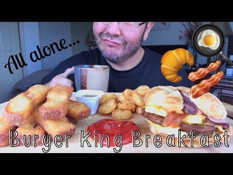 Asmr #567 Burger King Breakfast!