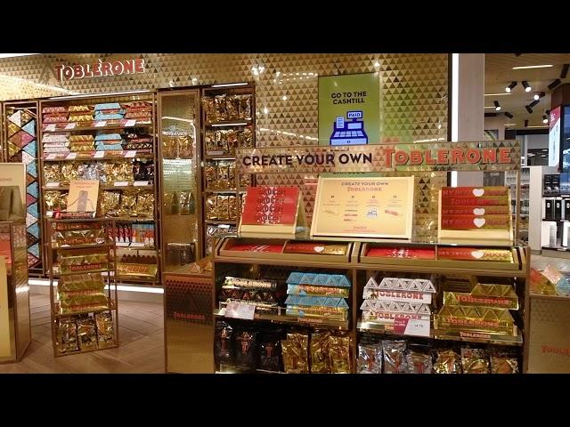 Toblerone Zurich Gifting Station