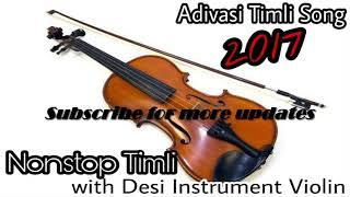 Adivasi Nonstop Hit timli Song with desi instrument violin!!
