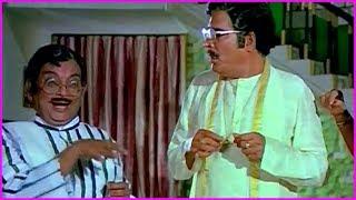 Chiranjeevi And Radha Funny Scenes In Telugu | Donga Telugu Movie Scenes