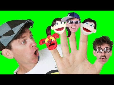 Finger Family Song - Daddy Finger with Matt | Nursery Rhymes | Learn English Kids