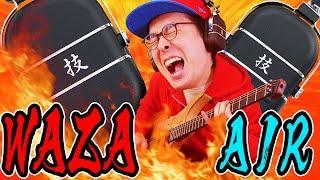 音が後ろから聴こえてくるっ!!!話題のヘッドホン型アンプ「WAZA-AIR」をさっそく試してみた!