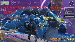 Fortnite Save The World Glitch Stormshield Defense With Only 2 Waves!!! PATCHED