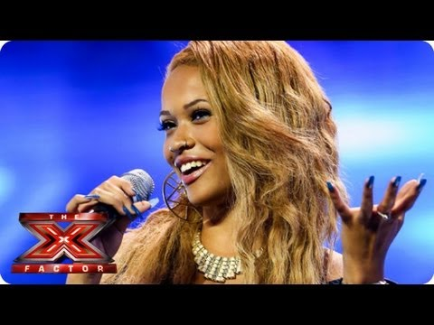 Tamera Foster sings I Have Nothing by Whitney Houston - Arena Auditions Week 1 -- The X Factor 2013