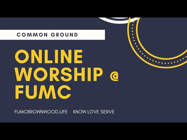 The Gospel According to John Part 3 / Pastor Joey Wilbourn in Common Ground / John 4