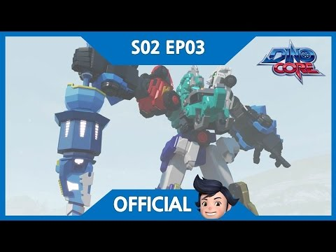 Thumbnail: [DinoCore] Official | I'm a rapper, Mammoth Core! | Dinosaur Robot Animation | Season 2 EP03