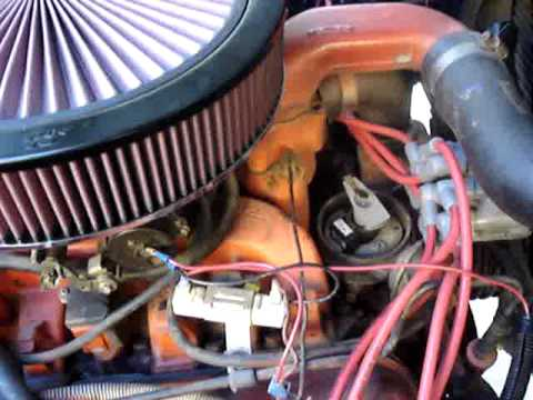 1972 international scout ignition part II - YouTube