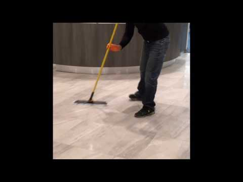 Cleaning commercial floor | Pacific Mist Carpet Cleaning