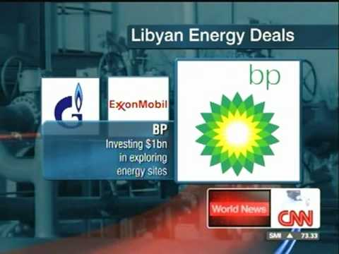 CNN World News Energy Deal in Libya