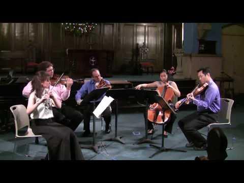 Dolce Suono Ensemble performs Ginastera's Impresiones de la Puna - Mimi Stillman, flute