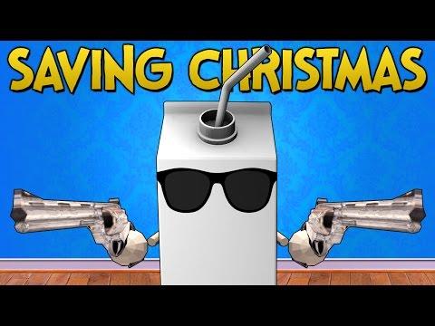 Gmod Sandbox Funny Moments - Saving Christmas! (Garry