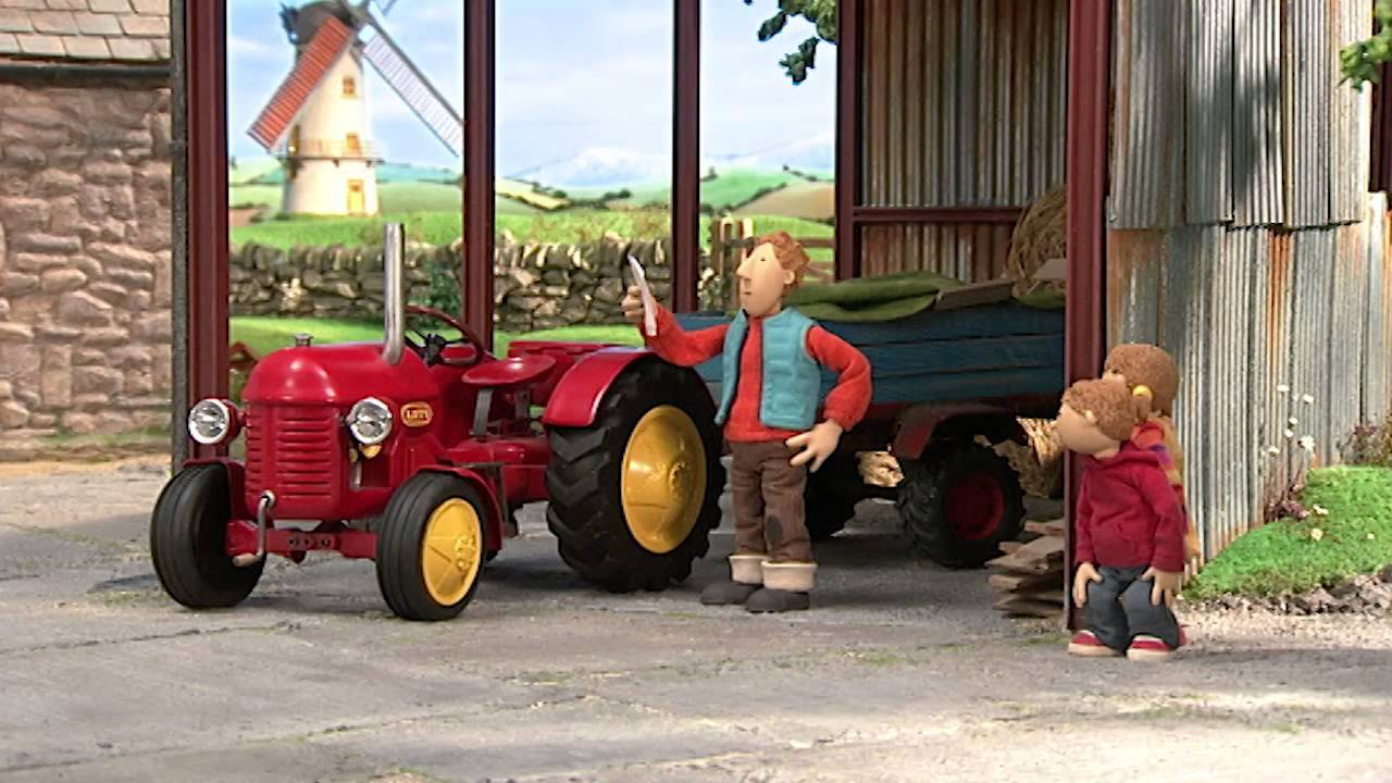 Tractor Going Right On Man : Little red tractor the show must go on youtube