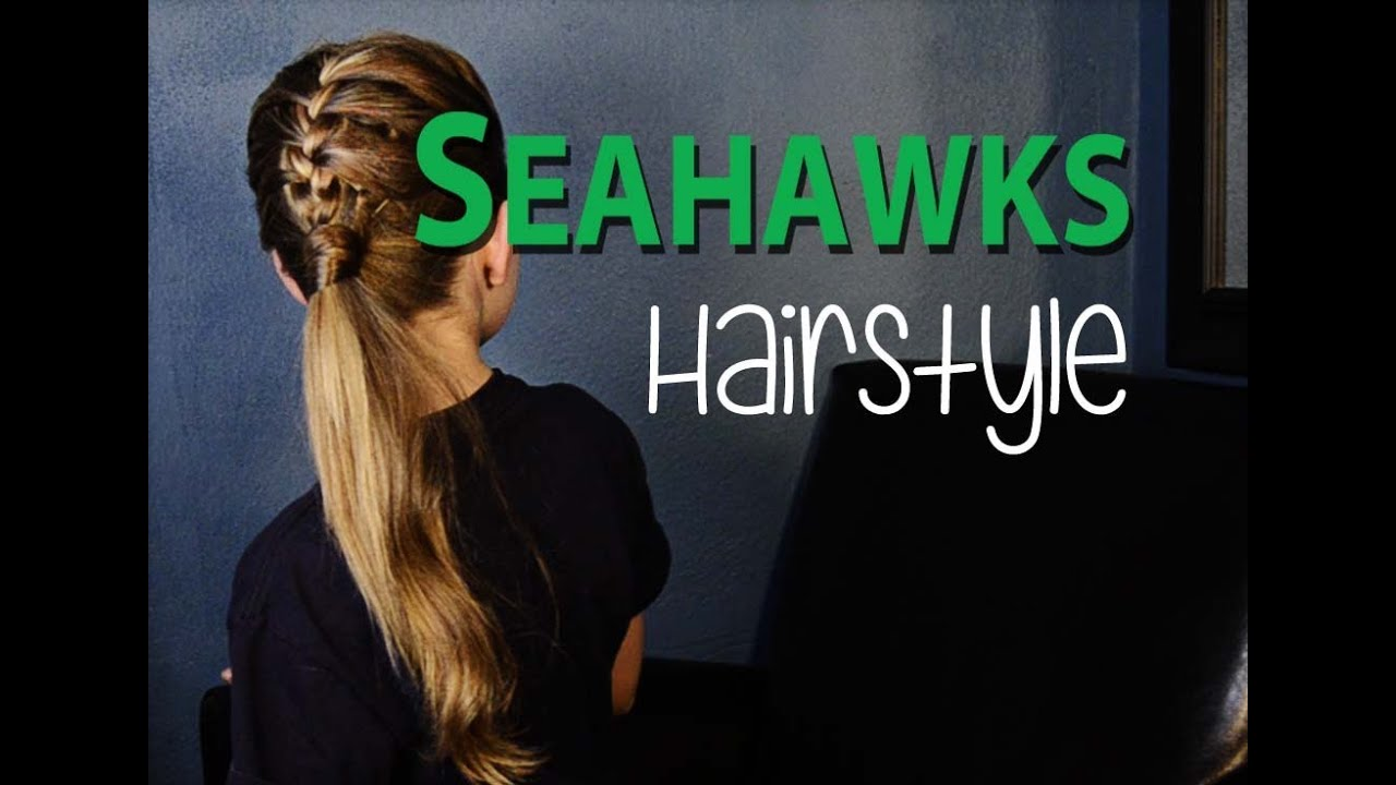 Seattle Seahawks Sporty Hairstyle YouTube