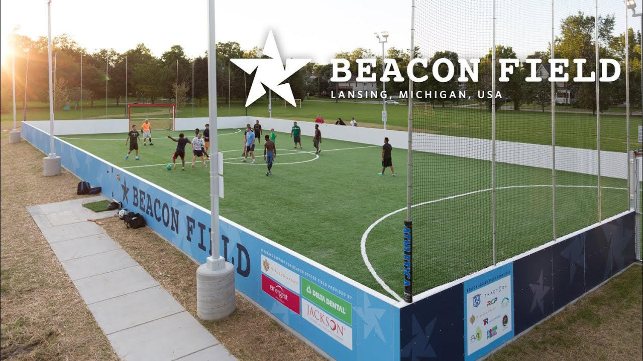 beacon soccer field time lapse youtube