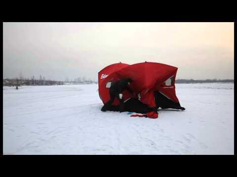 Зимняя рыболовная палатка FATFISH 9416. Обзор