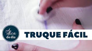 COMO TIRAR MANCHA DE CANETA ESFEROGRÁFICA