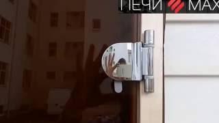 Дверь для бани и сауны door wood прозрачная бронза ПечиМАкс