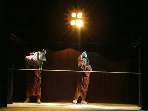 """Kyore Saryg And The Snake"" - Khakassian National Puppet Theatre Skazka, Abakan, Russia (2009)"