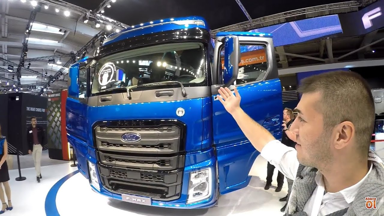 Yeni Ford Trucks F-MAX Dünya Lansmanı / IAA Hannover Ticari Araç Fuarı 2018'i Sizler İçin Gezdik ...