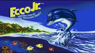 Ecco Jr. and tнe Great Ocean Treasure Hunt! (Sega Pico, 1994)