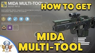Destiny 2 Mida Multi-Tool Exotic Quest - How to get the Mida Multi Tool Scout Rifle
