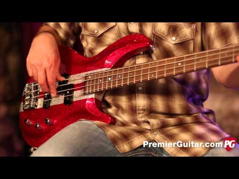 Review Demo - Aria IGB-RC 4-String Bass