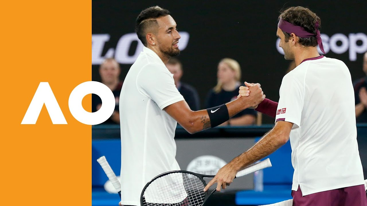 Roger Federer And Nick Kyrgios Raise 35 000 For Bushfire Relief Australian Open 2020
