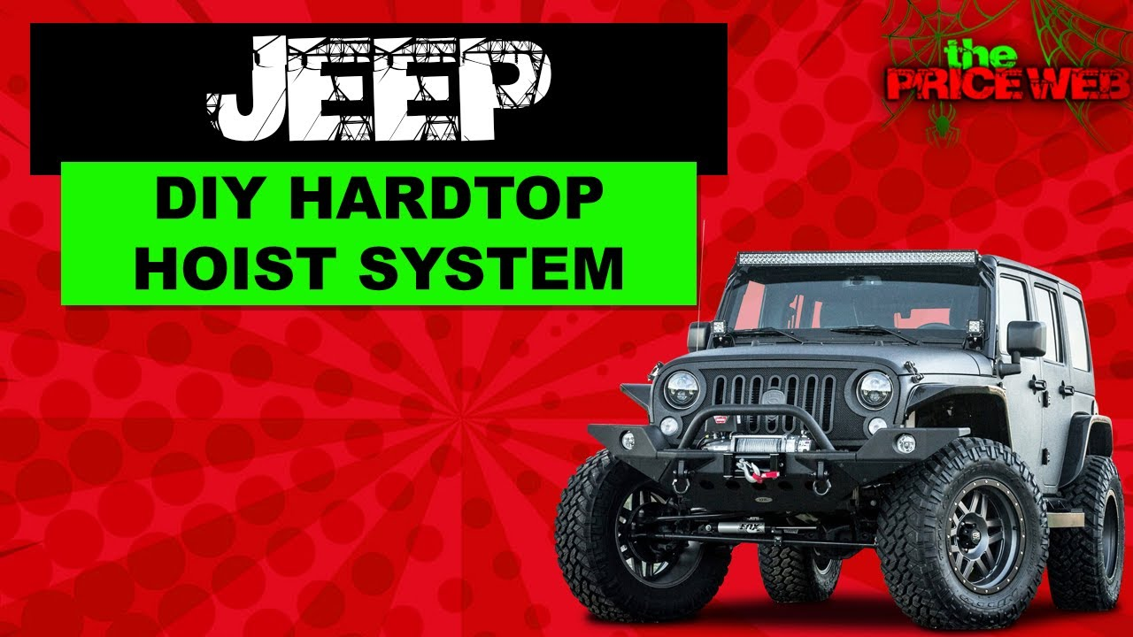 Jeep wrangler diy top hoist system youtube solutioingenieria Image collections