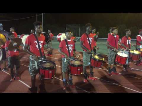 Provine drumline vs Natchez drumline 2015
