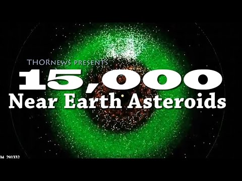 NASA found 15,000 Near Earth Asteroids