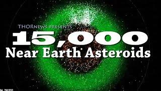 NASA found 15,000 Near Earth Asteroids