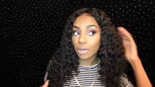 Bomb Deep wave curly style ft. MAXGLAM BRAZILIAN DEEP WAVE HAIR